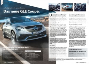 Sternkunde GLE Coupe